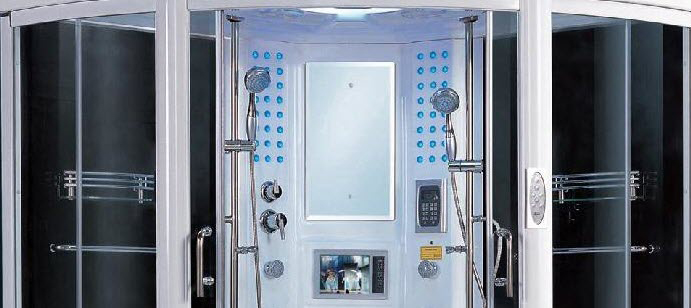 steam shower room