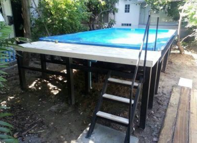 Above Ground Pool Thailand Samantha Fiberglass Pool